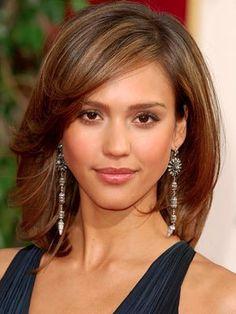 Jessica Alba style and Jessica Alba earrings-2