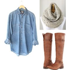 Fall Outfit. Perfect i have each of these components.