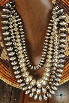 Set of Navajo Pearls. What are Navajo pearls you ask? follow link..