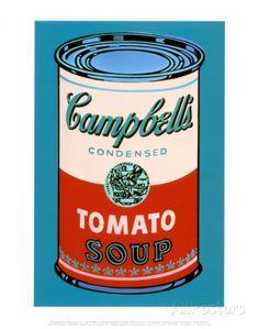 Campbell's Dosensuppe, 1965 (pink und rot) Kunstdrucke von Andy Warhol bei AllPosters.de