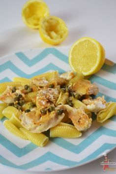 Aiguillettes de poulet au citron et aux câpres