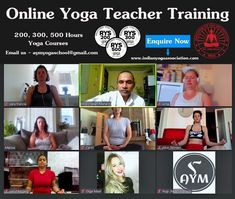 Our current online yoga teacher training batch. The next online yoga teacher training batch will start on 15th July 2020. #yog #yoga #onlineyoga #onlineyogatraining #yogateachertraining #yogainspiration
