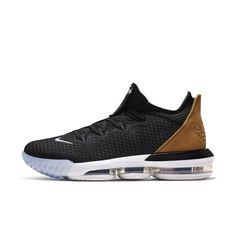 super popular 877a4 e65ce LeBron 16 Low Basketball Shoe Size 11.5 (Black) Lebron 16, Nike Lebron,