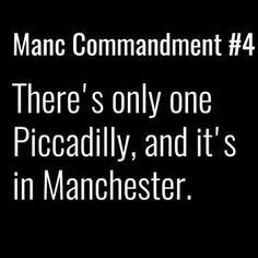 Manchester Piccadilly.