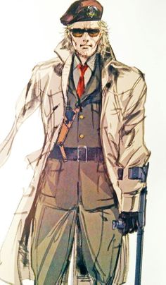 Kazuhira Miller Commander of the Diamond Dogs and Former Commander of MSF (Militaires Sans Frontières)