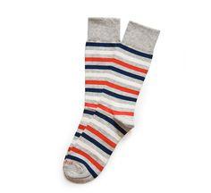 crosswalk vintage stripe socks by etiquette clothiers