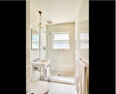White Subway Tile Bathroom - Design photos, ideas and inspiration. Amazing gallery of interior design and decorating ideas of White Subway Tile Bathroom in bathrooms by elite interior designers. Upstairs Bathrooms, Downstairs Bathroom, Bathroom Renos, Laundry In Bathroom, Bathroom Ideas, Shower Bathroom, Bathroom Designs, Bathroom Small, Bathroom Renovations