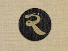 My new Logo in a different style. Typography Inspiration, Design Inspiration, Rb Logo, Textile Logo, Logo Google, Lululemon Logo, Textiles, Symbols, Lettering