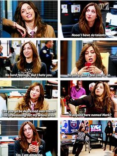 I love Gina and Brooklyn 99.  She and Rosa are my role models.  :)  #brooklyn99