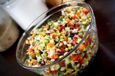 Cowboy Caviar - perfect for a tailgate, no need to heat up, quick to make and is always a hit!