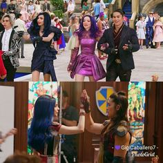 Disney Descendants Characters, Disney Descendants 3, Best Disney Movies, New Movies, Disney Stuff, Disney Couples, Cute Couples, Cosas American Girl, Dianne Doan