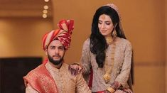 Pakistani Cricket Imad Wasim With Sannia Ashfaq Walima Pic 2019 Wedding Dinner, Wedding Wear, Wedding Bells, Bridal Make Up, Wedding Make Up, India Win, Sajal Ali, Walima, Wedding