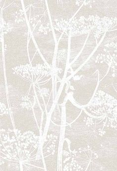 Papier peint - Cole and Son - Cow Parsley - Yellow & White Cole And Son Wallpaper, Wallpaper Roll, Pattern Wallpaper, Hall Wallpaper, Funky Wallpaper, Kitchen Wallpaper, Wallpaper Online, White Wallpaper, Original Wallpaper