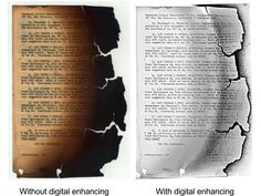 #archivosporelmundo Computer software allows enhancement of a digital image to recover information that was once thought lost. #archives #veterans