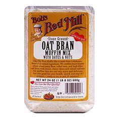 Bob's Red Mill Muffin Mix Oat Bran