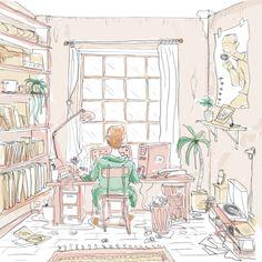Zuhause zu arbeiten war für unseren Autor immer angenehm, aber selten produktiv. Deswegen hat er sich im Homeoffice von einem Arbeitspsychologen beraten lassen.