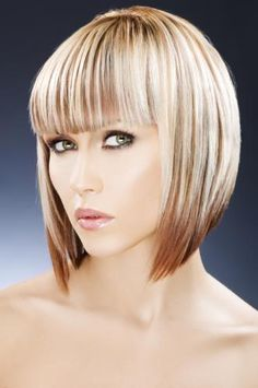 dramatic a line bob - Google Search