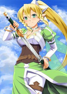 Leafa, Sword Art online