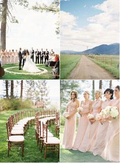 Wedding Ceremony Venue: Regan Beach, South Lake Tahoe / Wedding Reception Venue: Willow Stay Ranch, Private Residence Lake Tahoe Wedding by Jose Villa, Part I | Style Me Pretty