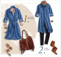 tencel denim shirt dress - Google Search