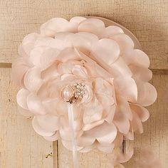 Flower Wedding Ring Bearer's Pillow