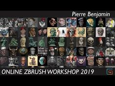 This Online ZBrush Workshop - 2019 - was broadcasted in June - July. Class started on the 18th of June 2019 and finished on 23rd of July and was streamlined LIVE weekly every Tuesdays. The workshop lasted for 6 weeks. Any questions send me an email here: workshop.pierrebenjamin@gmail.com. ___________________________________. Weekly breakdown. Week 1 - Anatomy part 1 - ZBrush - Sculpting Realistic heads. Week 2 - Anatomy part 2 - ZBrush - Sculpting Caricatures. Week 3 - UV Unwrapping… Caricatures, Zbrush, Anatomy, Sculpting, 18th, Workshop, June, It Is Finished, Stone