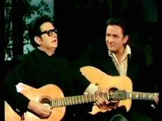 On this day in 1970, Roy Orbison appeared on the Johnny Cash Show Christmas Special. — with Roy Orbison and Johnny Cash.