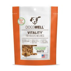 Vitality Duets: Chicken and Peanut Butter Dog Treats