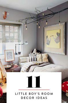 11 Adorable Decor Ideas for a Little Boy's Room via @PureWow