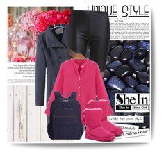 """Shein 4/2"" by amelaa-16 ❤ liked on Polyvore featuring мода, UGG Australia и Vera Bradley"