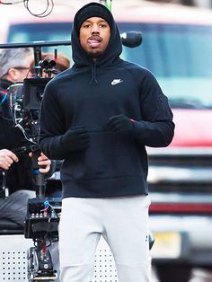 Star Tracks: Thursday, April 2, 2015 | ON THE RUN | He's got the eye of the tiger! Michael B. Jordan films scenes in Philadelphia on Wednesday for his role as the grandson of Apollo Creed – who's being trained by none other than Rocky Balboa – for the new film Creed.