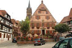 Dambach-la-Ville, Alsace, France