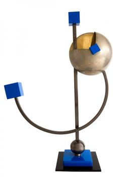 Serge MANZON (1930-1998) pour Pierre CARDIN. - Lampe Balance. -