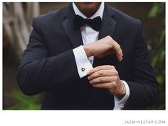 Great cufflink shot >>> Manhattan Beach Wedding : Amir+Lesley - © Jasmine Star Photography Blog 2013