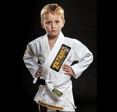 NJ FIGHT SHOP - Tatami Animal Kids Jiu Jitsu Gi - White, $79.99 (http://www.njfightshop.com/tatami-animal-kids-jiu-jitsu-gi-white/)