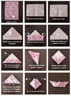 Tutorial para hacer barco de papel papiroflexia - Papiroflexia paso a paso ...