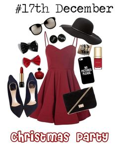 """""""#17th Dec Xmas Party"""" by bountymeetsfobwonderland ❤ liked on Polyvore featuring Glamorous, Christian Dior, Forever 21, Charlotte Russe, Casetify, Linda Farrow, Torrid, Lancôme and Dolce&Gabbana"""