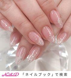 Pin on オフィスネイル Elegant Nails, Stylish Nails, Girls Nails, Pink Nails, Pink Nail Art, Cute Nails, Pretty Nails, Nail Art Designs, Asian Nails