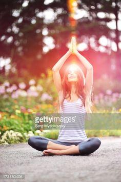 Stock Photo : Yoga exercise
