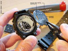 G-Shock DW-5600 Affichage négatif bricolage