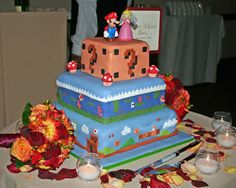 Ooh, I want the question mark tier for the groom's cake.