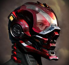 Future, Futuristic, Halo: Locus Helmet (Render Composited) by ~Rhythem02 on deviantART