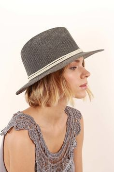 you would never know this hat is made 100% out of recycled paper. The beautiful woven detail won't let ya down. shop http://alltheprettylittlethings.love now!