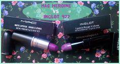 mac heroine vs inglot 422