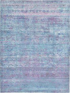 Light Blue Aqua Area Rug