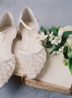 Art Deco Pearl and Ivory Wedding Flat - Wedding Shoes Wedding Flats, Ivory Wedding, Green Wedding, Wedding Ring, Wedding Flowers, Wedding Dress Trends, Wedding Dresses, Wedding Ideas, Wedding Details