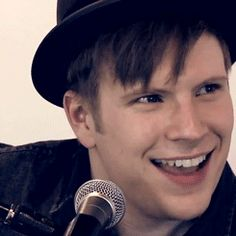 gif Patrick stump brb. dying of perfectness overload.