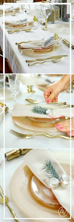Mix and match dinner sets for your table setting.