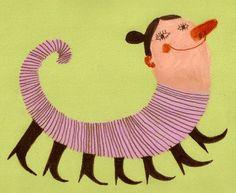 Israeli artist, Tosya....love her happy stuff!