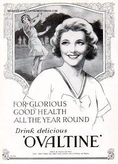 """drink delicious Ovaltine"""